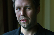 Lead actor Paddy Considine pictured after winning the prestigious Michael Powell Award for Best New British Feature Film with his film 'My Summer Of Love' at the 2004 Edinburgh International Film Festival which ends today..