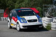 Simon Larsen Rally Sport i Tjekkiet 2012 (CZ)