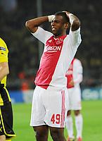 Fotball<br /> Tyskland<br /> 18.09.2012<br /> Foto: Witters/Digitalsport<br /> NORWAY ONLY<br /> <br /> Ryan Babel (Amsterdam)<br /> Fussball Champions League, Gruppenphase, Borussia Dortmund - Ajax Amsterdam