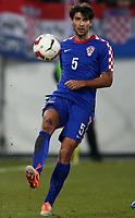 Fotball<br /> 05.03.2014<br /> Sveits v Kroatia<br /> Foto: Gepa/Digitalsport<br /> NORWAY ONLY<br /> <br /> Laenderspiel, Schweiz vs Kroatien, Freundschaftsspiel. <br /> Bild zeigt Vedran Corluka (CRO).