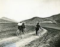 1900 Bicyclists in the Cahuenga Pass