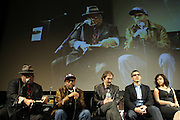 l to r: Stew, Spike Lee, Richard Edson, John Tutturo and Rosie Perez  at The ImageNation celebration for the 20th Anniversary of ' Do the Right Thing' held Lincoln Center Walter Reade Theater on February 26, 2009 in New York City. ..Founded in 1997 by Moikgantsi Kgama, who shares executive duties with her husband, Event Producer Gregory Gates, ImageNation distinguishes itself by screening works that highlight and empower people from the African Diaspora.