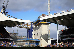 19 March 2017 - Premier League - Tottenham Hotspur v Southampton - A general view (GV) of construction work at White Hart Lane - Photo: Marc Atkins / Offside.