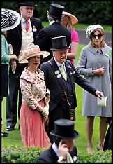 Princess Anne at Royal Ascot 20-6-12