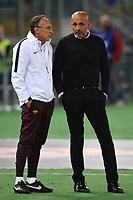 Marco Domenichini, Luciano Spalletti Roma <br /> Roma 11-04-2016 Stadio Olimpico Football Calcio Serie A 2015/2016 AS Roma - Bologna Foto Andrea Staccioli / Insidefoto