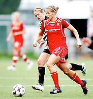 Fotball , <br /> Toppserien kvinner , <br /> 18.05.08 , <br /> Røa kunstgress stadion , <br /> Dynamite Girls Røa - Arna Bjørnar , <br /> Marie Knutsen ,  <br /> Foto: Thomas Andersen / Digitalsport