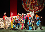 Taipei Eye Chinese Opera troupe performance of The Monkey King Fights The Spider Goblin. The drama is an excerpt from the classical Chinese story Journey To The West.