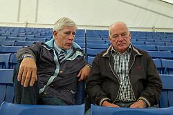 Dubbel interview Paul Schockemöhle en Wiepke Van de Lageweg<br /> Zangersheide - Lanaken 2011<br /> © Dirk Caremans