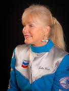Jule Clark, photographed in the Weeks Hangar during the 2009 AirVenture, Oshkosh, Wisconsin.