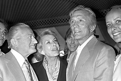 Files - Kirk Douglas and wife Anne Buydens attending the 32nd Cannes Film Festival in Cannes, France on May 1979. Photo by APS Medias/ABACAPRESS.COM