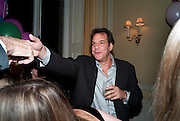 BRENT HOBERMAN, Kate Reardon and Michael Roberts host a party to celebrate the launch of Vanity Fair on Couture. The Ballroom, Moet Hennessy, 13 Grosvenor Crescent. London. 27 October 2010. -DO NOT ARCHIVE-© Copyright Photograph by Dafydd Jones. 248 Clapham Rd. London SW9 0PZ. Tel 0207 820 0771. www.dafjones.com.