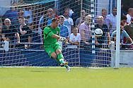 AFC Wimbledon Goalkeeper Ryan Clarke (26) during the Pre-Season Friendly match between Margate and AFC Wimbledon at Hartsdown Park, Margate, United Kingdom on 16 July 2016. Photo by Stuart Butcher.