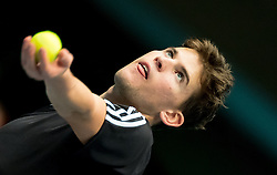 23.10.2016, Stadthalle, Wien, AUT, ATP Tour, Erste Bank Open, Tie Break Tens, Gruppe A, im Bild Dominc Thiem (AUT) // Dominc Thiem of Austria during a Tie Break Tens, group A, match of Erste Bank Open of ATP Tour at the Stadthalle in Vienna, Austria on 2016/10/23. EXPA Pictures © 2016, PhotoCredit: EXPA/ Sebastian Pucher