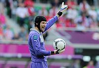 Fotball<br /> EM 2012<br /> 12.06.2012<br /> Tsjekkia v Hellas<br /> Foto: Witters/Digitalsport<br /> NORWAY ONLY<br /> <br /> Torwart Petr Cech (Tschechien)<br /> Fussball EURO 2012, Vorrunde, Gruppe A, Griechenland - Tschechien