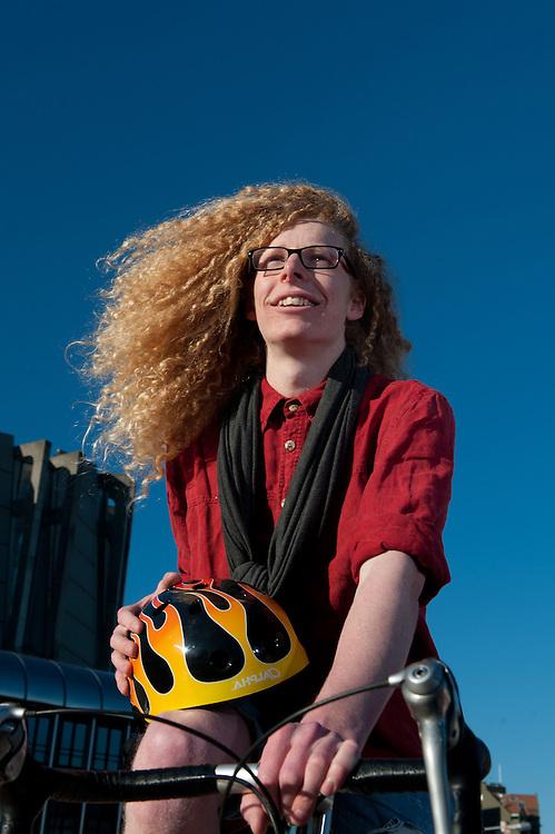 Annual Report shoot: Transport. Model: Degge Jarvie. Photo By Mark Tantrum.