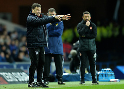 Rangers caretaker manager Graeme Murty during the Ladbrokes Scottish Premiership match between Rangers and Aberdeen at the Ibrox Stadium, Glasgow.