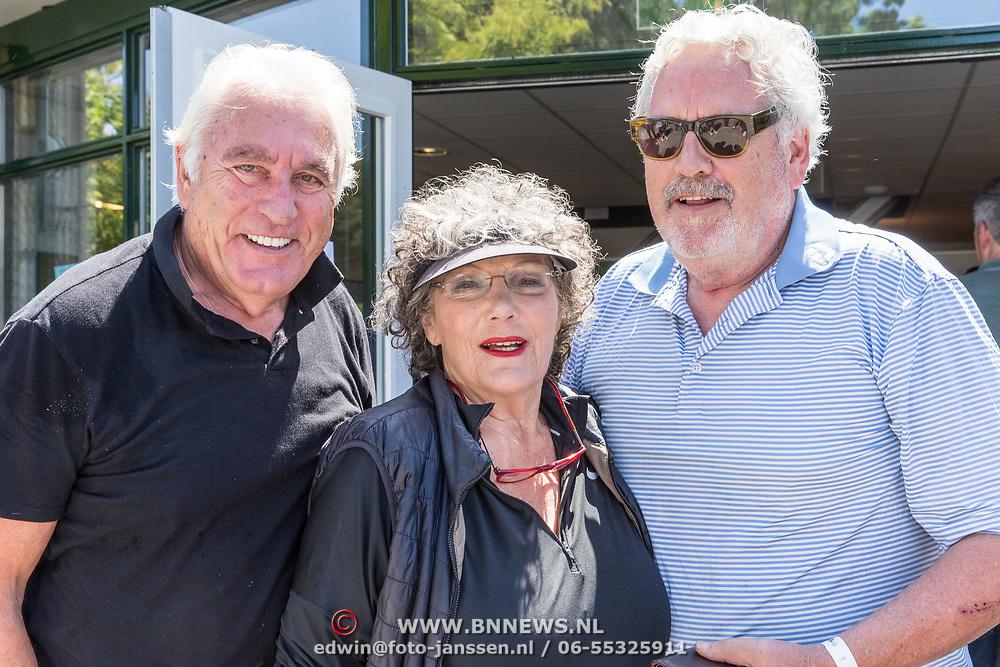 NLD/Brielle/20190614 - Bekend Nederland golft voor Afrika, Ernst Daniël Smid met Marco Bakker en Willeke van Ammelrooy