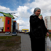 Novy Urengoi town scene. ..