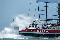 Luna Rossa vs ETNZ. 13th of July, 2013, Artemis Racing in Alameda.