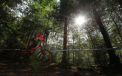 Matthew Simmonds of Madison Saracen Factory Team during day two of the 2017 UCI Mountain Bike World Cup at Fort William. PRESS ASSOCIATION Photo. Picture date: Sunday June 4, 2017. Photo credit should read: Tim Goode/PA Wire. RESTRICTIONS: Editorial use only, no commercial use without prior permission