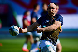 Matt Kvesic of Worcester Warriors warms up prior to kick off - Mandatory by-line: Ryan Hiscott/JMP - 13/09/2020 - RUGBY - Twickenham Stoop - London, England - London Irish v Worcester Warriors - Gallagher Premiership Rugby