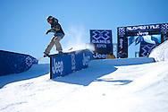 Stale Sandbech during Snowboard Slopestyle Eliminations at 2014 X Games Aspen at Buttermilk Mountain in Aspen, CO. ©Brett Wilhelm/ESPN