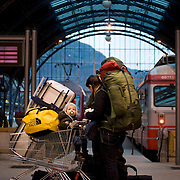 Noorwegen Bergen 30 december 2008 20081230 Foto: David Rozing .Havenstad Bergen,centraal station treinstation.The city of Bergen, central station trainstation ..Foto: David Rozing