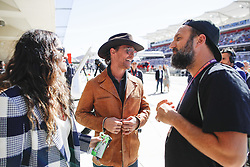 November 3, 2019, Austin, United States of America: Motorsports: FIA Formula One World Championship 2019, Grand Prix of United States, ..Camila Alves, Matthew McConaughey, Paul Ripke  (Credit Image: © Hoch Zwei via ZUMA Wire)
