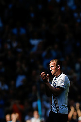 Harry Kane of Tottenham Hotspur is clapped off by the home supporters as he is substituted late in the match with rumours circling other clubs will look to sign him over the summer transfer window - Photo mandatory by-line: Rogan Thomson/JMP - 07966 386802 - 16/05/2015 - SPORT - FOOTBALL - London, England - White Hart Lane - Tottenham Hotspur v Hull City - Barclays Premier League.
