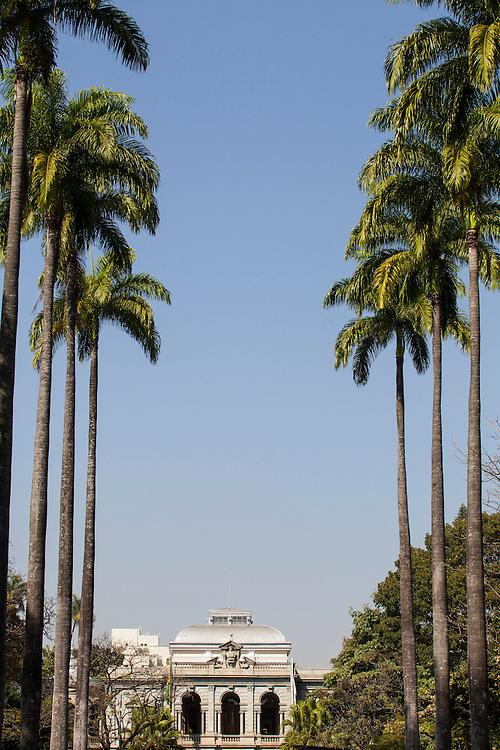 Belo Horizonte_MG. Brasil.<br /> <br /> Circuito Cultural Praca da Liberdade em Belo Horizonte, Minas Gerais. Na foto Palacio da Liberdade.<br /> <br /> The Liberdade Square Cultural Circuit in Belo Horizonte, Minas Gerais. In this photo Palacio da Liberdade.<br /> <br /> Foto: RODRIGO LIMA / NITRO