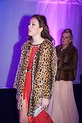 PHOEBE ALEXANDER; LOUISA FERRARI, Quorn Hunt Ball, Stanford Hall. Standford on Soar. 25 January 2014