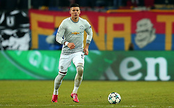Marcos Rojo of Manchester United - Mandatory by-line: Robbie Stephenson/JMP - 22/11/2017 - FOOTBALL - St Jakob-Park - Basel,  - FC Basel v Manchester United - UEFA Champions League Group A