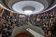 Loja Jirga meeting from the 80s, Jihad museum, Herat, Afghanistan