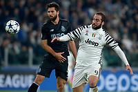 Gonzalo Higuain Juventus <br /> Torino 14-03-2016 Juventus Stadium Football Calcio Champions League 2016/2017 Juventus - Porto Round of 16. Foto Filippo Alfero Insidefoto