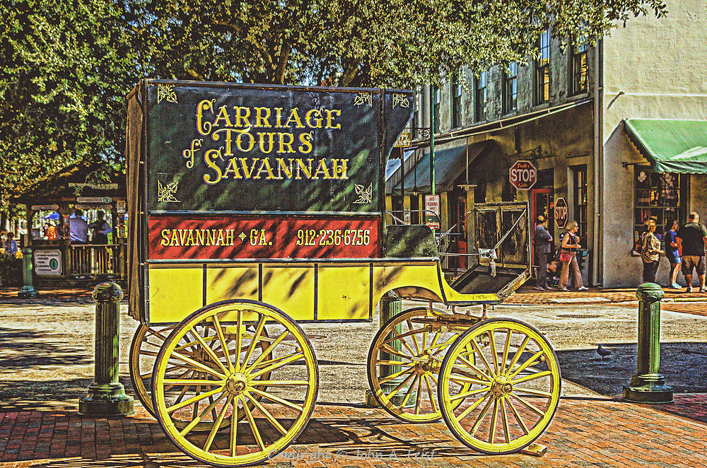 This carriage was sitting in one of the many squares that make Savanna distinct.  We saw a number of horse drawn carriages, mostly taking tourists to see the various sights in a traditional way.