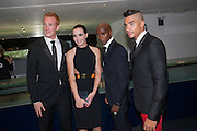 Greg Rutherford, Mo Farah; ; Victoria Pendleton  2012 GQ Men of the Year Awards,  Royal Opera House. Covent Garden, London.  3 September 2012