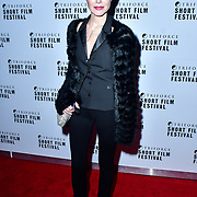 Amanda Mealing attend TriForce Short Festival, on 30 November 2019, at BFI Southbank, London, UK.