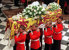 21st Anniversary of Princess Diana's Death - 21 Aug 2017
