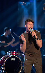 James Blunt performing during filming of the Graham Norton Show at The London Studios.