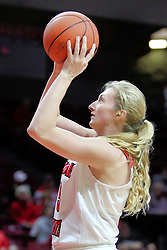 NORMAL, IL - December 16: Lexy Koudelka during a college women's basketball game between the ISU Redbirds and the Maryville Saints on December 16 2018 at Redbird Arena in Normal, IL. (Photo by Alan Look)