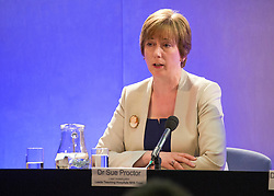 © Licensed to London News Pictures. 26/06/2014. LONDON. DR SUE PROCTOR. The Lampard Report Press Conference.  An independent oversight of NHS and Department of Health investigations into matters relating to Jimmy Savile. Photo credit : Graham Eva/LNP