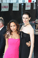 LONDON - June 04: Myleene Klass & Erin O'Connor at the Glamour Women of the Year Awards 2013 (Photo by Brett D. Cove)