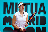Belinda Bencic of Switzerland during the third round of the Mutua Madrid Open 2021, Masters 1000 tennis tournament on May 3, 2021 at La Caja Magica in Madrid, Spain - Photo Rob Prange / Spain ProSportsImages / DPPI / ProSportsImages / DPPI