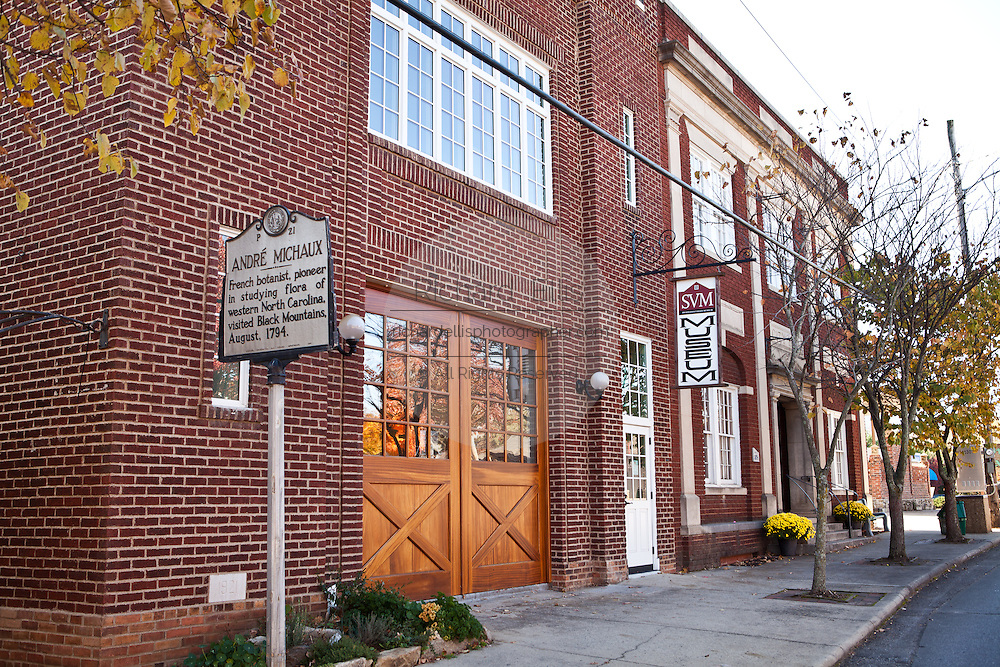 Swannanoa Valley Museum in Black Mountain, North Carolina.