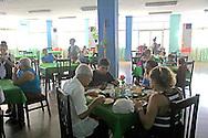 Pizza parlor in Manzanillo, Granma, Cuba.