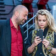 NLD/Amsterdam//20170522 - Film premiere  Pirates of the Caribbean, Maria Kooistra en partner ......