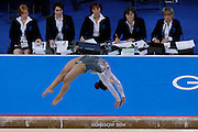 Mcc0055084 . Daily Telegraph<br /> <br /> England's Claudia Fragapane on the Beam during the Women's Artistic Gymnastics Team Team Finals on Day 6 of the 2014 Commonwealth Games in Glasgow today .<br /> <br /> 29 July 2014