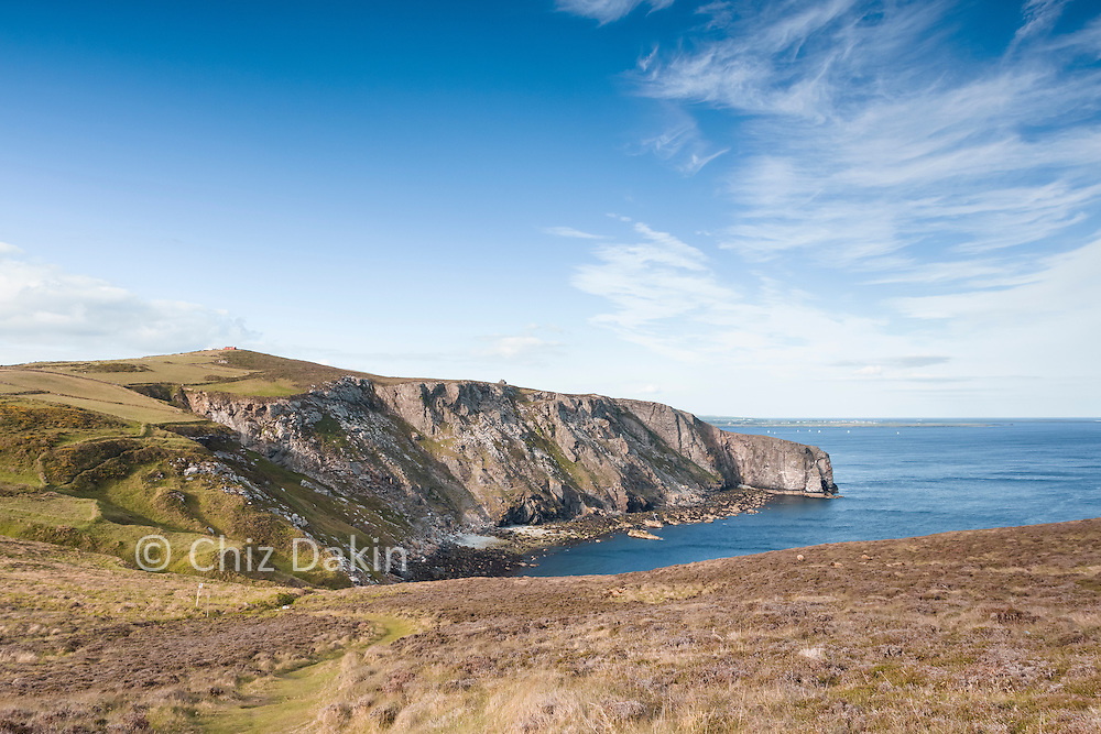 The beautiful Bay Stacka comes into view from the Spanish/Black Head peninsula