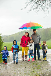 Family Roblek, on May 2, 2021 in Gorice, Slovenia. Photo by Vid Ponikvar / Sportida