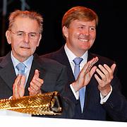 NLD/Arnhem/20121103 - 100 Jarig bestaan NOC/NSF Sportparade, Epke Zonderland, Jacques Rogge, Prins Willem-Alexander